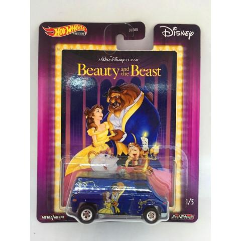 Hot Wheels - Super Van Azul - Beauty and the Beast / A Bela e a Fera - Disney 2020