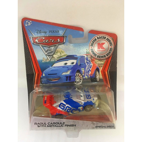 Disney Cars - Raoul Caroule With Metallic Finish - Kmart Exclusivo - Cars 2