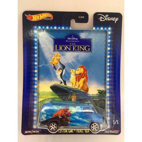 Hot Wheels - Custom GMC Panel Van Azul - Lion King - Disney 2020