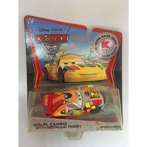 Disney Cars - Miguel Camino With Metallic Finish - Kmart Exclusivo - Cars 2