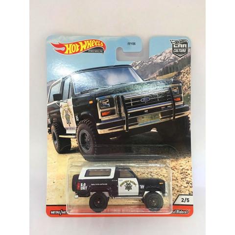 Hot Wheels - 85 Ford Bronco - Wild Terrain - Car Culture