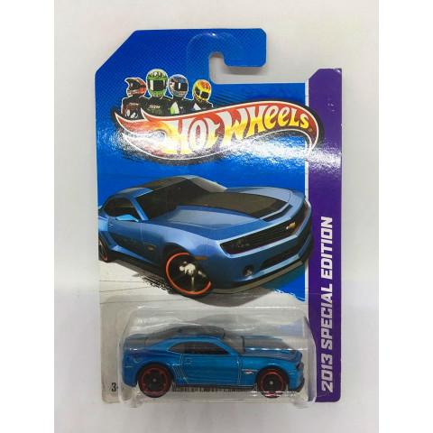Hot Wheels - 2013 Hot Wheels Chevy Camaro Special Edition Azul - Mainline 2013