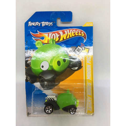 Hot Wheels - Angry Birds Minion Pig Verde - Mainline 2012
