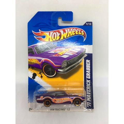 Hot Wheels - 71 Maverick Grabber Roxo - Mainline 2012