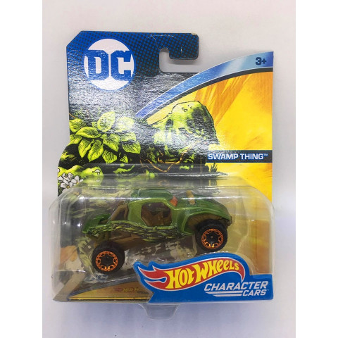 Hot Wheels - Swamp Thing Verde - DC - Character Cars