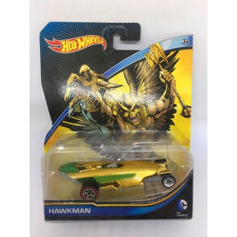 Hot Wheels - Hawkman Amarelo - DC - Character Cars