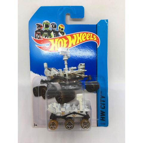 Hot Wheels - Mars Rover Curiosity Branco - Mainline 2014