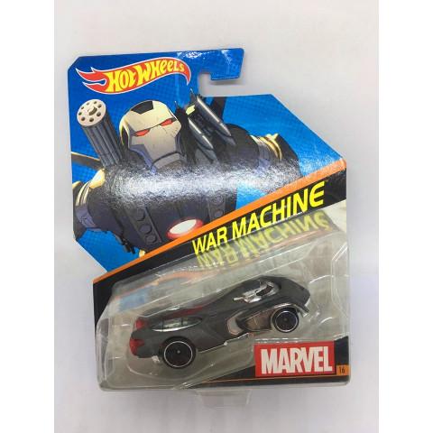 Hot Wheels - War Machine Cinza - Marvel