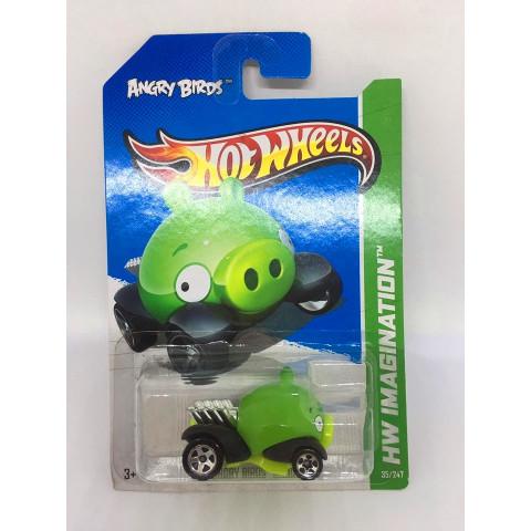 Hot Wheels - Angry Birds Minion Verde - Mainline 2013