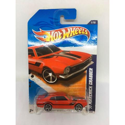 Hot Wheels - 71 Maverick Grabber Vermelho - Mainline 2011