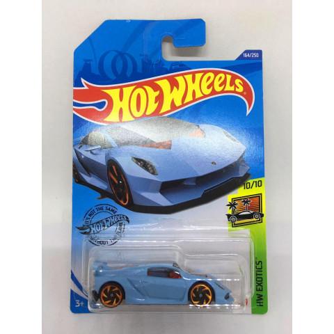 Hot Wheels - Lamborghini Sesto Elemento Azul - Mainline 2020