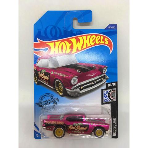 Hot Wheels - 57 Chevy Rosa - Treasure Hunt Super 2020