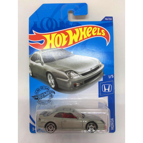 Hot Wheels - 98 Honda Prelude Cinza - Mainline 2020