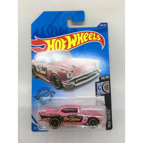 Hot Wheels - 57 Chevy Rosa - Mainline 2020