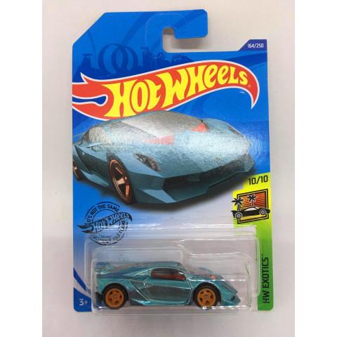 Hot Wheels - Lamborghini Sesto Elemento Azul - Treasure Hunt Super 2020