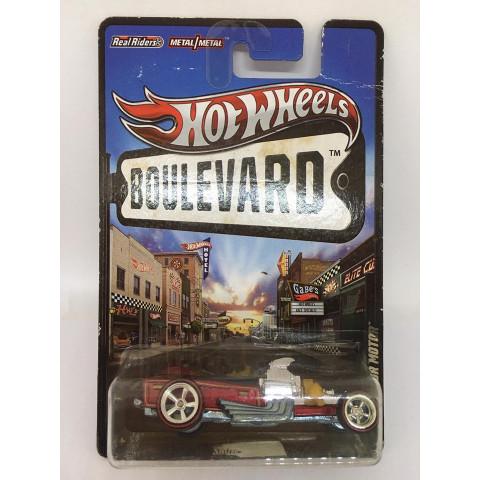 Hot Wheels - Rigor Motor Vermelho - Boulevard