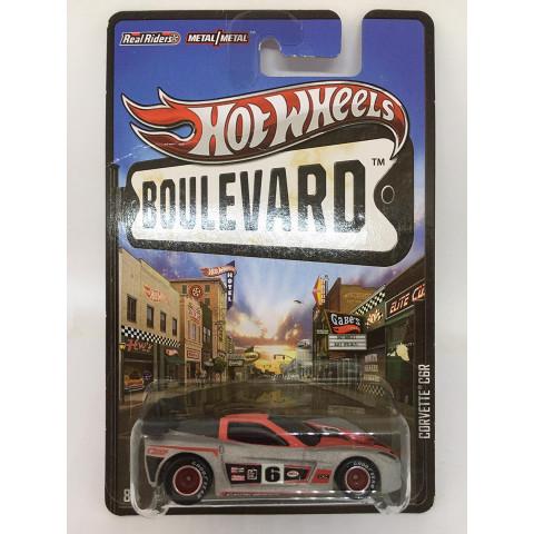 Hot Wheels - Corvette C6R Cinza - Boulevard