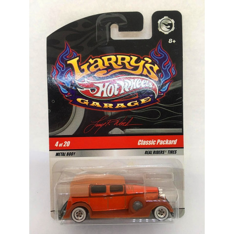 Hot Wheels - Classic Packard Laranja  - Larry´s Garage