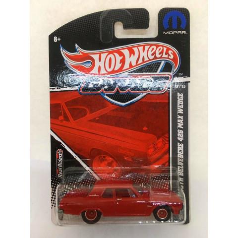 Hot Wheels - 63 Plymouth Belvedere 426 Max Wedce Vermelho - Garage