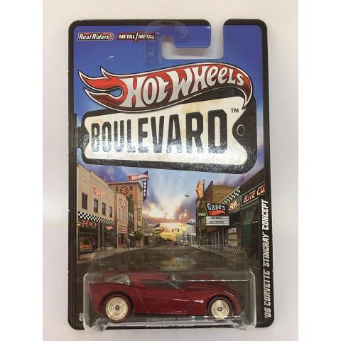 Hot Wheels - 09 Corvette Stingray Concept Vermelho - Boulevard