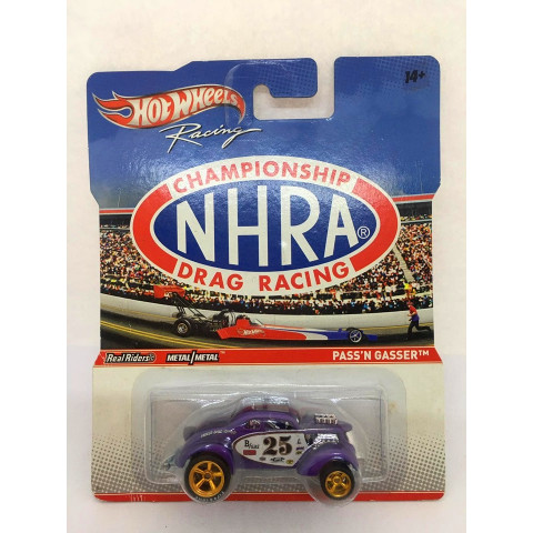 Hot Wheels - Pass´n Gasser Roxo - Racing - Championship NHRA Drag Racing