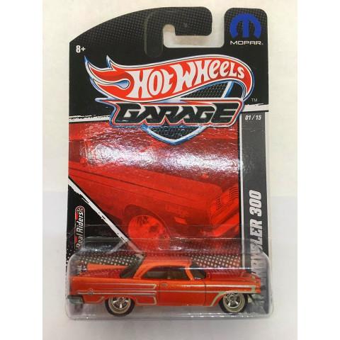Hot Wheels - 57 Chrysler 300 Vermelho - Garage