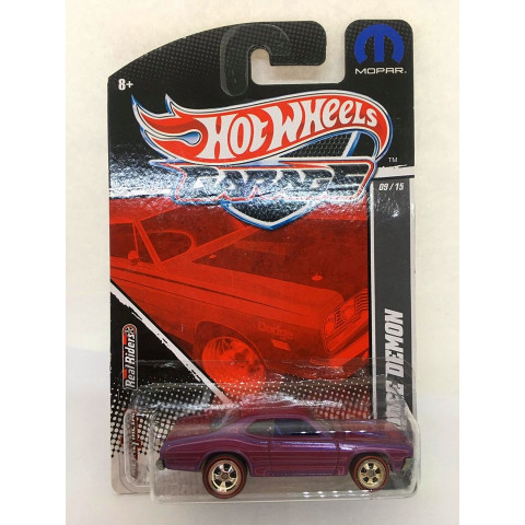 Hot Wheels - 71 Dodge Demon Roxo - Garage
