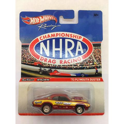 Hot Wheels - 73 Plymouth Duster Vermelho - Racing - Championship NHRA Drag Racing