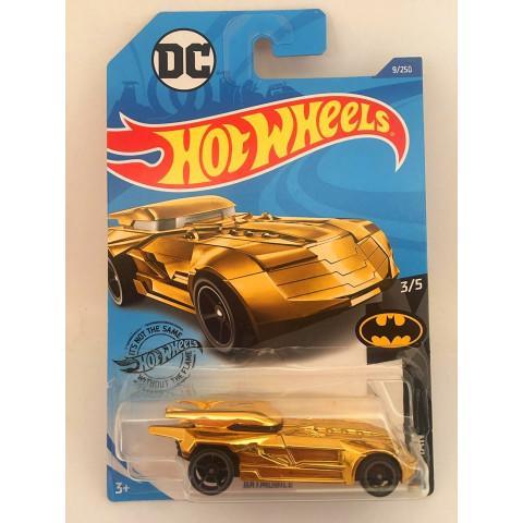 Hot Wheels - Batmobile Dourado - Mainline 2020