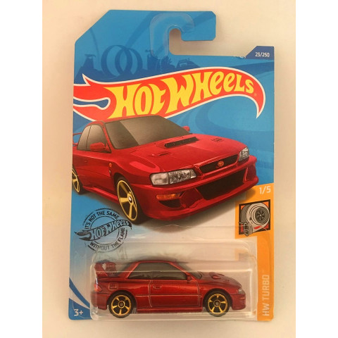 Hot Wheels - 98 Subaru Impreza 22B Sti-Version Vermelho - Mainline 2020
