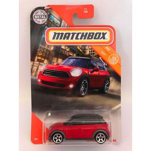 Matchbox - 2011 Mini Countryman Vermelho - Mbx City - Básico 2020