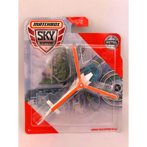 Matchbox - Airbus Helicopters H130 Branco - Sky Busters 2020