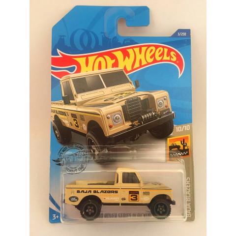 Hot Wheels - Land Rover Series ||| Pickup Bege - Mainline 2020