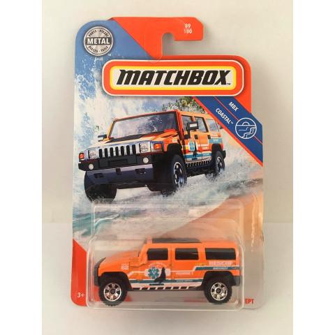 Matchbox - Hummer H2 Suv Concept Laranja - Mbx Coastal  2020