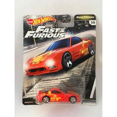 Hot Wheels - Mazda Rx-7 Fd Vermelho - Fast & Furious