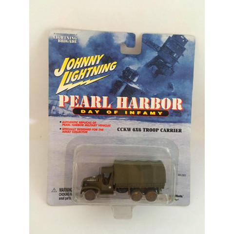 Johnny Lightning - Cckw 6x6 Troop Carrier Verde - Pearl Harbor Day Of Infamy