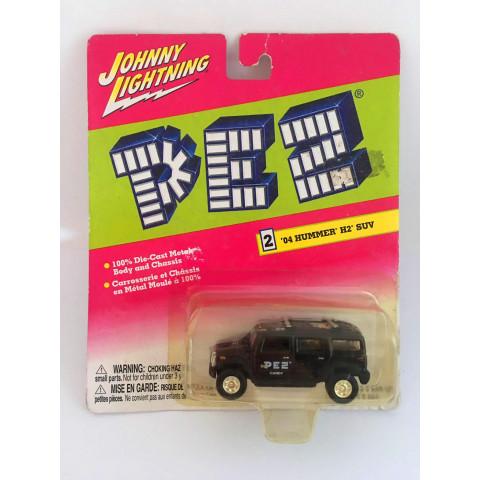 Johnny Lightning - 04 Hummer H2 Suv Preto - Pez