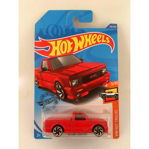 Hot Wheels - 91 Gmc Syclone Vermelho - Mainline 2020