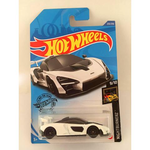 Hot Wheels - McLaren Senna Branca - Mainline 2020