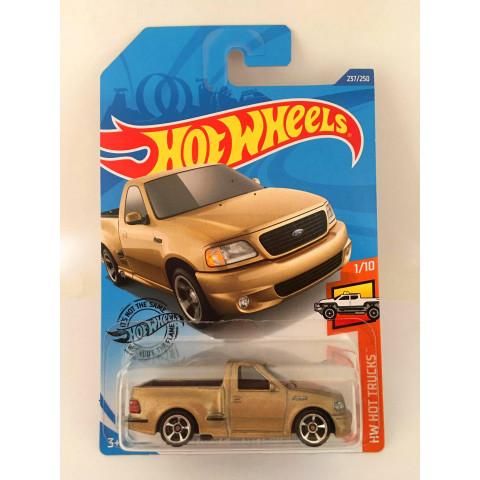 Hot Wheels - 99 Ford F-150 Svt Lightning Dourado - Mainline 2020