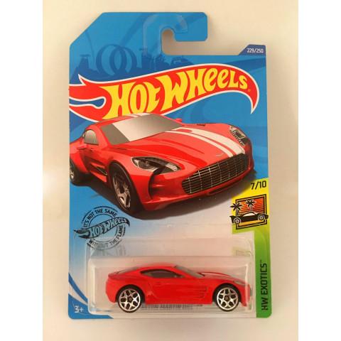Hot Wheels - Aston Martin One-77 Vermelho - Mainline 2020