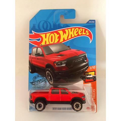 Hot Wheels - 2020 Ram 1500 Rebel Vermelho - Mainline 2020