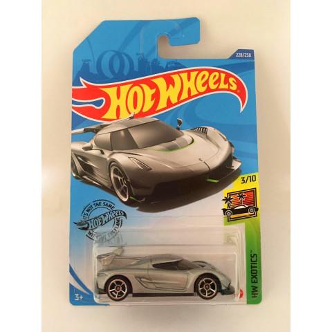 Hot Wheels - 2020 Koenigsegg Jesko Cinza - Mainline 2020