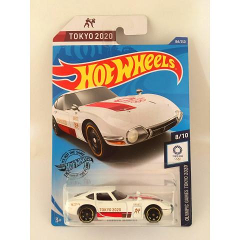 Hot Wheels - Toyota 2000 Gt Branco - Mainline 2020