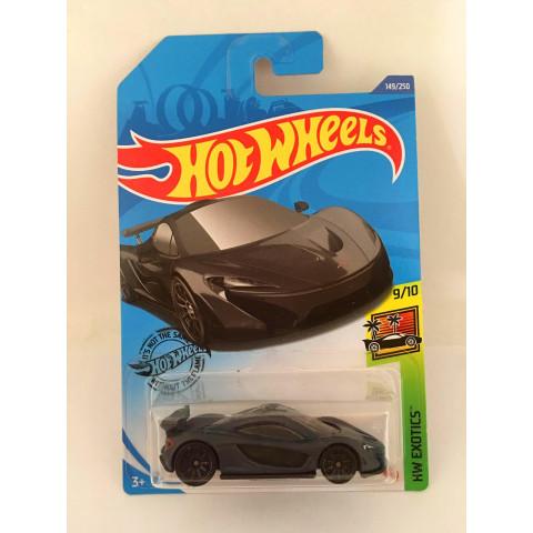 Hot Wheels - McLaren P1 Preto - Mainline 2020