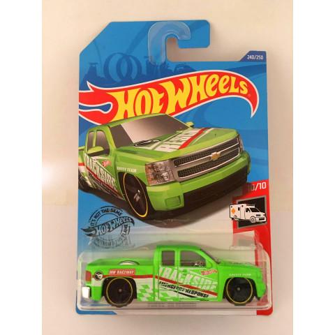 Hot Wheels - Chevy Silverado Verde - Mainline 2020