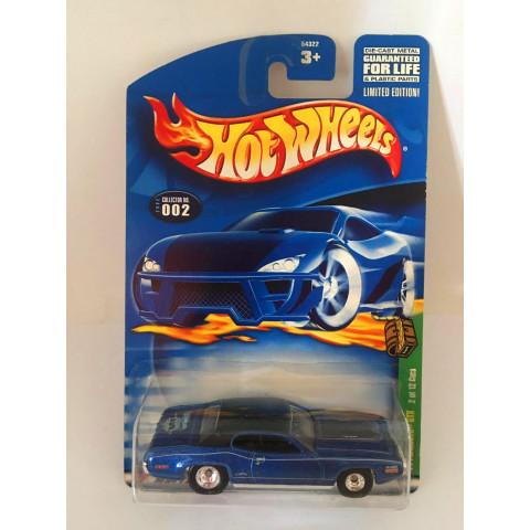 Hot Wheels - 71 Plymouth Gtx Azul - Treasure Hunt Super 2001