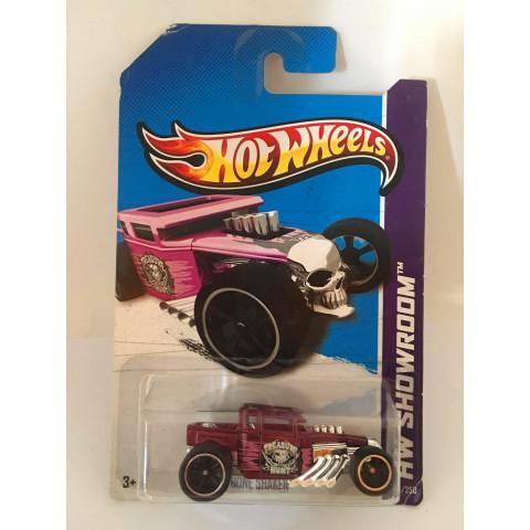 Hot Wheels - Bone Shaker Roxo - Treasure Hunt 2013