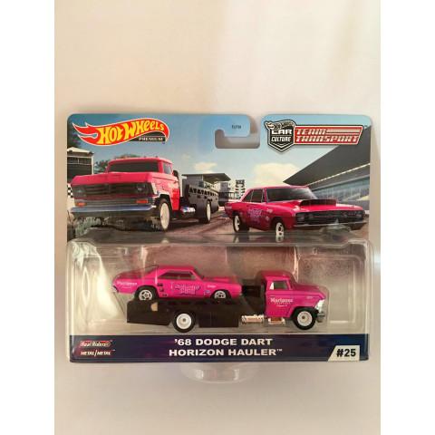 Hot Wheels - 68 Dodge Dart Horizon Hauler - Team Transport