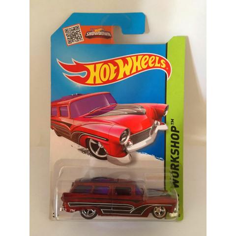 Hot Wheels - 8 Crate Vermelho - Treasure Hunt Super 2015